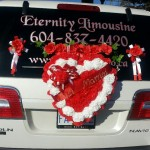 Limousine for Weddings - Just Married