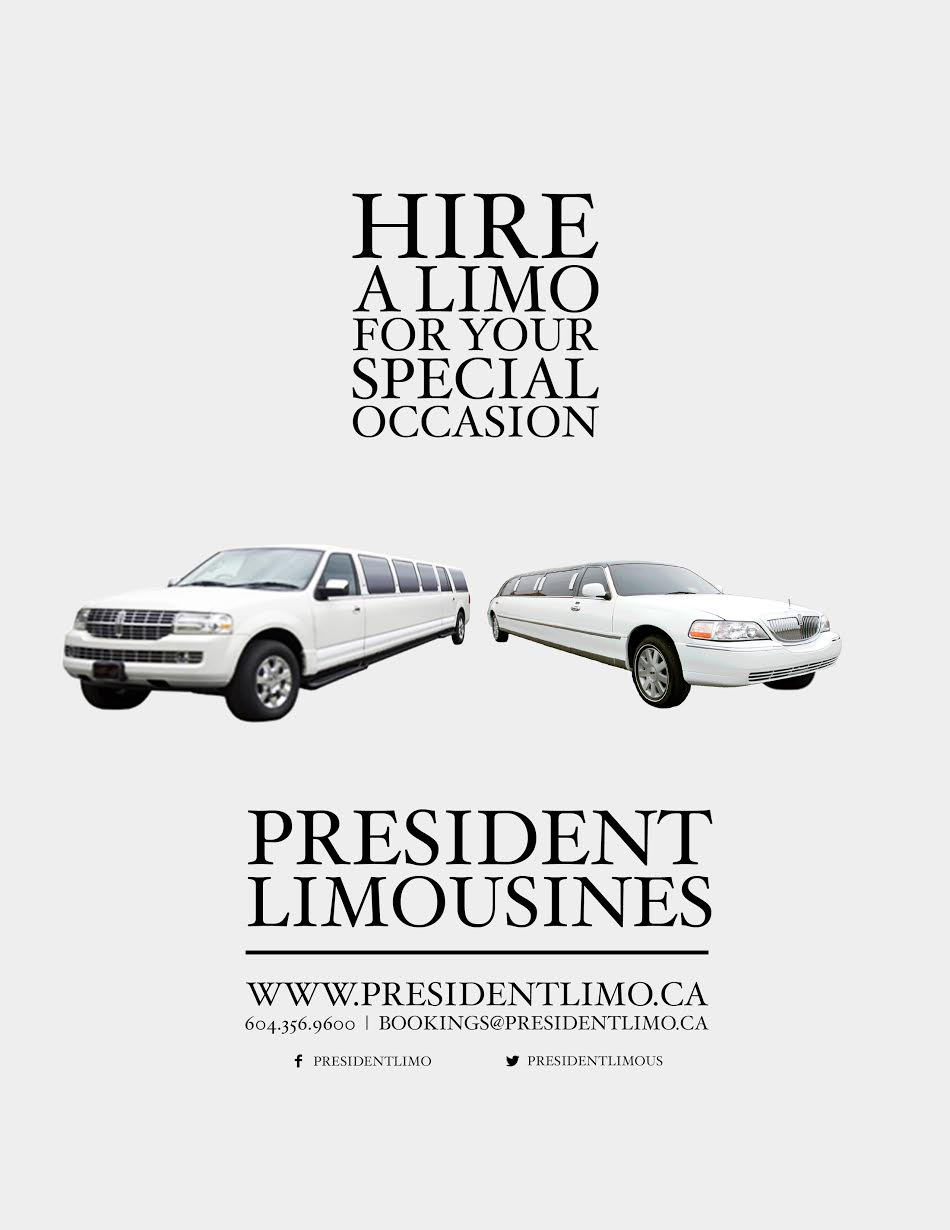 Brochure President Limousine Vancouver BC 2015