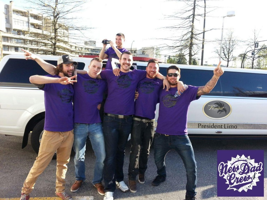New Dad Crew - Party with President Limousine, Vancouver