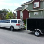 Luggage Trailer By President limo